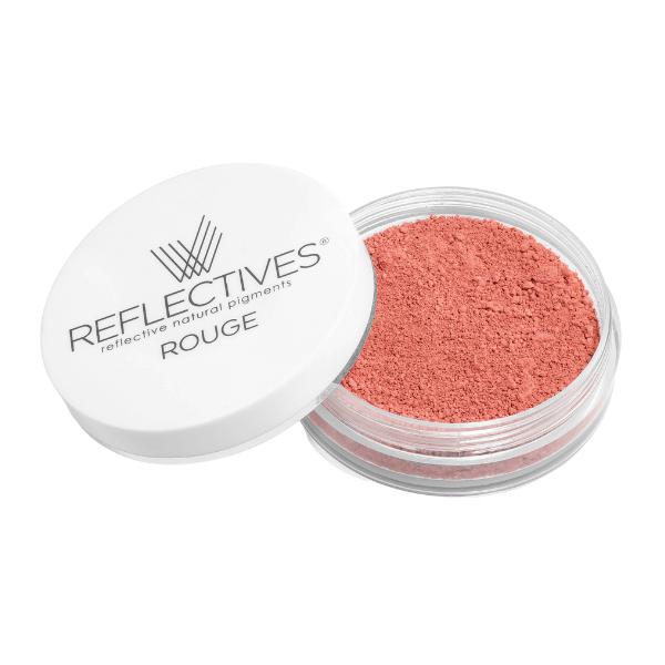 REFLECTIVES® Rouge lachs: oranges Rouge mit geöffnetem Deckel