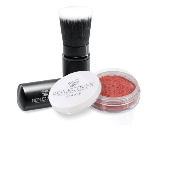 REFLECTIVES MINERAL ROUGE-SET
